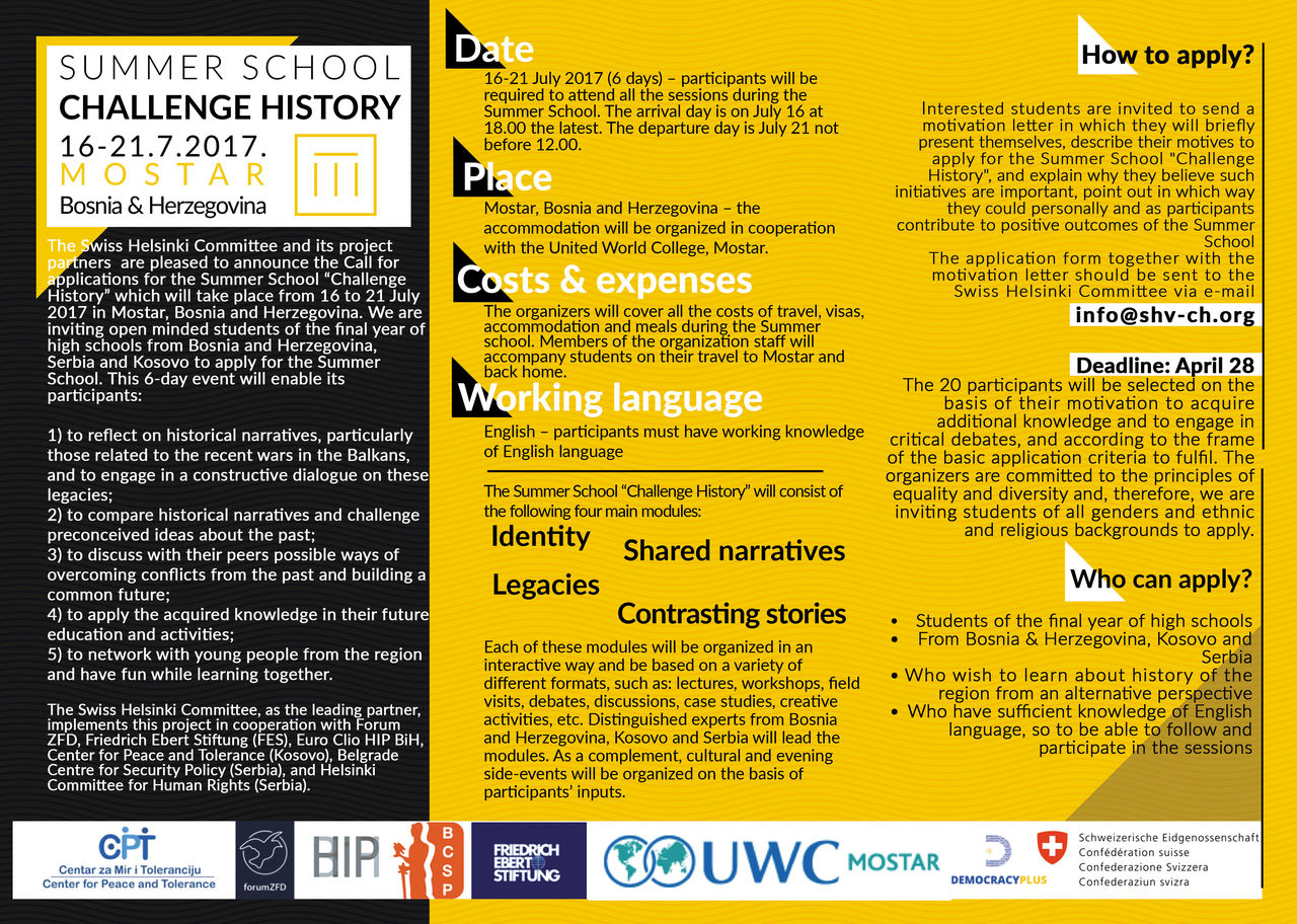 Leaflet_Summer School Challenge History